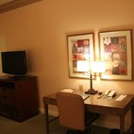 Desk area (Room near swimming pool)