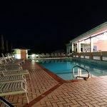 The pool was very nice