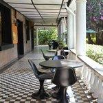 Sirona Hotel Barbeque Terrace