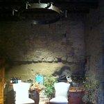 l'entrée décorée pour Pâques