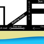 A simple map to help you find your way to our restaurant.