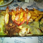 Main dish - Seafood Platter for one