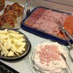 deli meats, spread & pastries