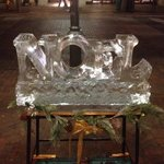 Ice Sculptures in the Street