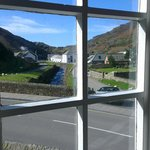 Boscastle harbour from the Riverside