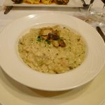 Another main course: Risotto aux cepes
