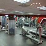 THE GREAT AND VERY WELL EQUIPED WORKOUT ROOM
