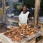 Tuesday BBQ Chickens & Ribs.. Yummy