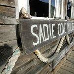 Sadie Cove's sign