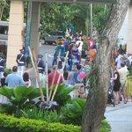 Sesame Street parade