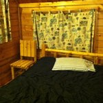 double bed (bring your own sheets and bed linens)
