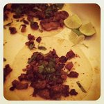 Carne Asada Tacos with Fresh Cilantro and Lime