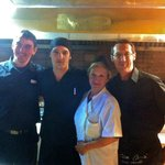 Some of the friendly staff