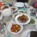 Seabagian masakan yang bisa anda nikmati di RM Garuda, Medan