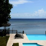Infinity Pool view from double room