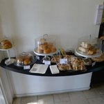 Light cakes and bread at Brill