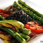 verduras asadas (vegetarian)