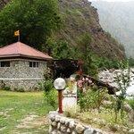 Gushaini village Tirthan valley GHNP Kullu jalori pass road H.P.