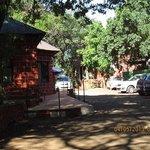 Parking + cottages