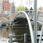 Steel bridge and steps in front as per instructions to B & B