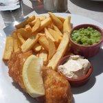 un délicieux Fish ans Chips
