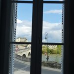 View over Amboise from Clos Saint Raphael