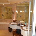 Bathroom at The Leela in Mumbai