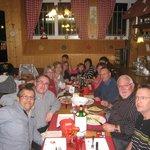 très bon repas entre amis pour la fête de la jonquille