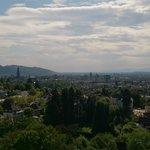 Vue de notre chambre sur Freiburg #2
