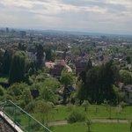 Vue de notre chambre sur Freiburg #1