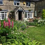 the garden in summer - a lovely spot for lunch in the sun...
