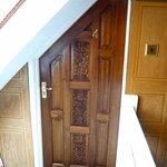 The enchanting door to Room 4