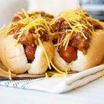 Chili, cheese dogs @ Superbdog BTS Nana Station Bangkok