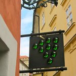 At The Green Grape Hotel, Prague, Czech Republic