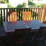 Self Catering Villa - Sundeck/patio area