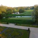 les jardins et le golf
