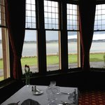 Diningroom overlooking the Loch