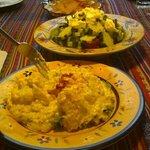Potato and Greek Salad