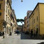 Le quartier Borgo Pio