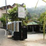 Entrance to Settle Inn on Loius Peiris Mawatha (Road)