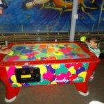 Fun times in the play area