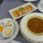 bouillabaisse ou plotoy soupe de poissons