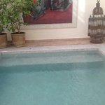 una piccola piscina per rilassarsi!!