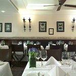 Fine dining in The Blue Door Bistro