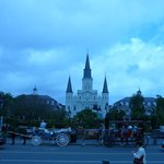 Jackson Square is nearby