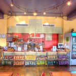 Inside Nature's Way Cafe Downtown West Palm beach