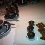 Tea and Petit Fous
