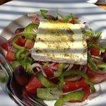 The perfect Greek salad