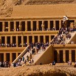 Queen Hatshepsut temple.