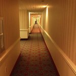Long creepy hallways